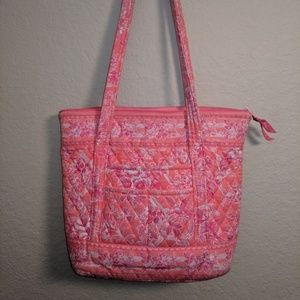 Vera Bradely Retired Hope Toile Pink Tote